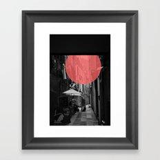 Venice Caffe del doge Framed Art Print