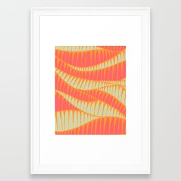 Sahara Desert in pastel colours 8 Framed Art Print