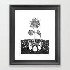 Prāṇa (Life Force) Framed Art Print