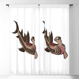 Hammerhead Shark Blackout Curtain