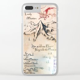 North of Rhovanion Clear iPhone Case