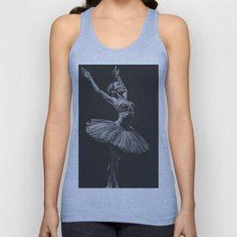 Ballet dancer Unisex Tank Top