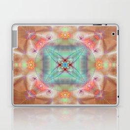 Fractal Art- Mint Art-Coral Art- Juorbin- Sacred Geometry Laptop & iPad Skin