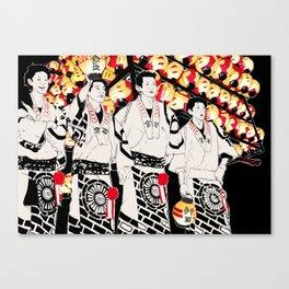 NIHONMATSU chochin matsuri Canvas Print