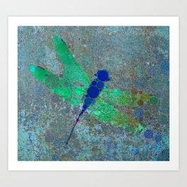 Dragon Fly Art Print