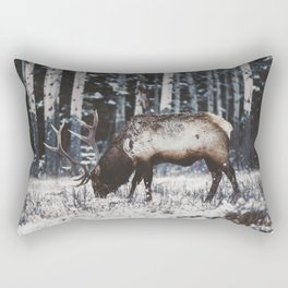Reindeer Rectangular Pillow