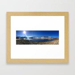 Strawberry Reservoir  Framed Art Print
