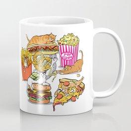 Cats & Junk Food Coffee Mug