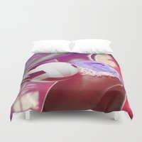 volleyball Duvet Covers featuring Beach volleyball girl sexy by Swagnation Dopetribe