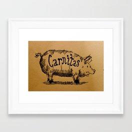 Carnitas  Framed Art Print