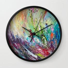 High grass Wall Clock