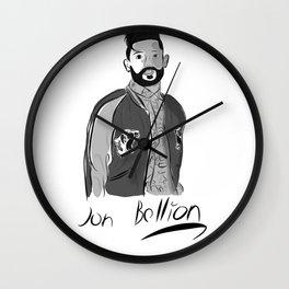 JON BELLION Wall Clock