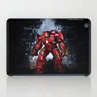 iron man iPad Cases featuring IRON MAN iron man by alifart