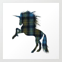 I love artan design for he Proud Scot Art Print
