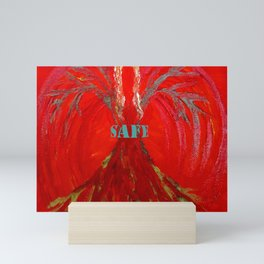 Feel SAFE Angel Mini Art Print