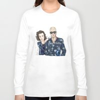 lv Long Sleeve T-shirts featuring The LV Squad by Art of Nanas