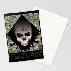 Black Ops Design Stationery Cards