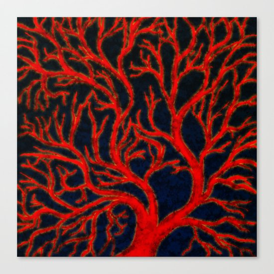 Spackled Veins Canvas Print