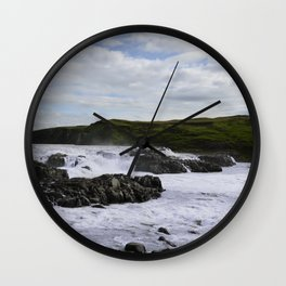 Gullfoss Wall Clock
