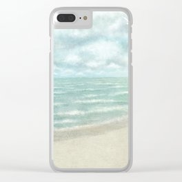 A Good Day For Sailing Clear iPhone Case