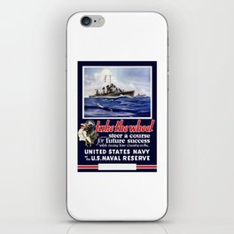 Take The Wheel -- United States Navy iPhone Skin