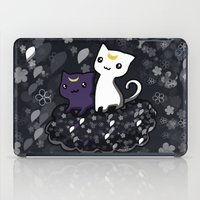 sailormoon iPad Cases featuring Sailormoon Luna and Artemis by Mayying