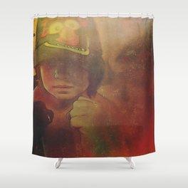 Rouse the Warrior Spirit Shower Curtain