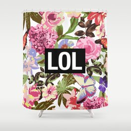LOL Shower Curtain