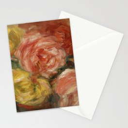 """Auguste Renoir """"Nature Morte Aux Roses (Still life with roses)"""" Stationery Cards"""