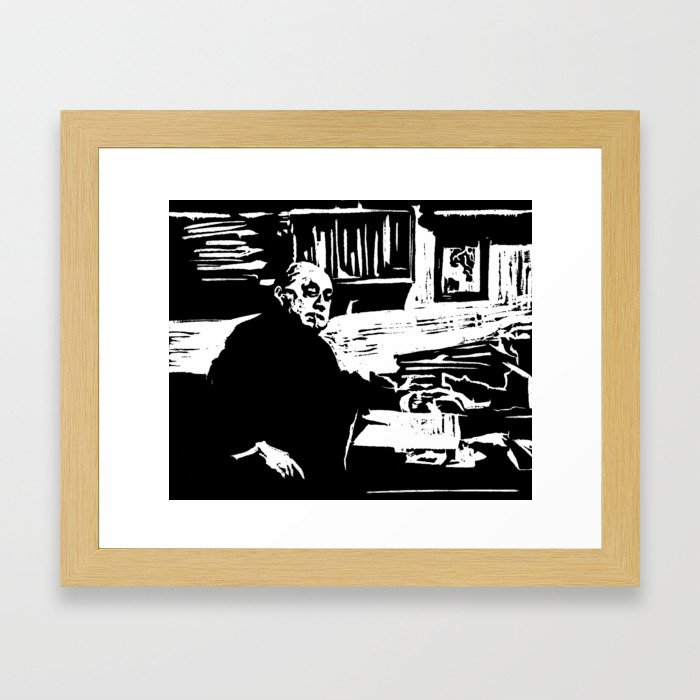 The Nihilist Framed Art Print