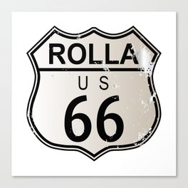 Rolla Route 66 Canvas Print
