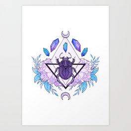 Scarab Queen Art Print
