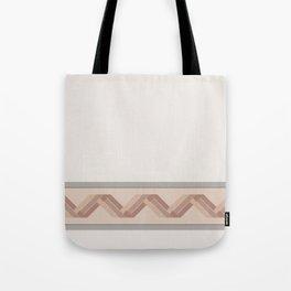 Macaroni Brickwork Tote Bag