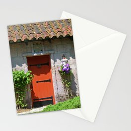 Lourdes University-  Portiuncula  Chapel Door with Clematis Stationery Cards