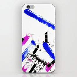 Unstoppable Dynamic Colors iPhone Skin