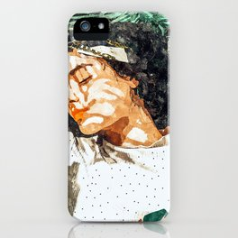 Rest #painting #tropical iPhone Case