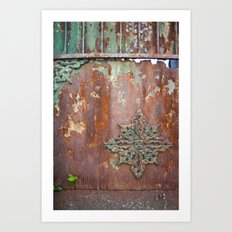 hard and soft Art Print