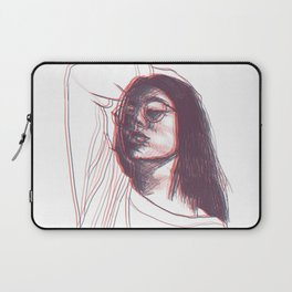 Seeing Double Laptop Sleeve