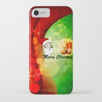 merry christmas iPhone & iPod Cases featuring Merry christmas by nicky2342