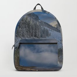 Maroon Bells Reflection In The Maroon Lake With Fresh Snow Aspen Colorado Usa for #society6 Backpack
