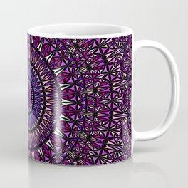 Pretty Particle Pattern Mandala Coffee Mug