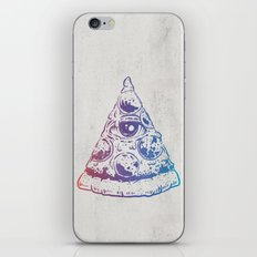 All Seeing Pizza iPhone & iPod Skin