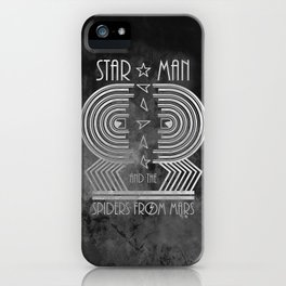 Star Man and The Spiders from Mars iPhone Case