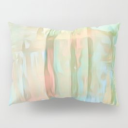 Streaks Of Colors Abstract - Pastel Pillow Sham