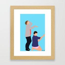 Dancing On My Own Framed Art Print