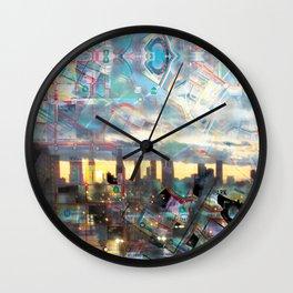 Los Angeles MTA map version 3.1 Wall Clock
