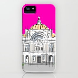 Bellas Artes architectural city ecopop iPhone Case