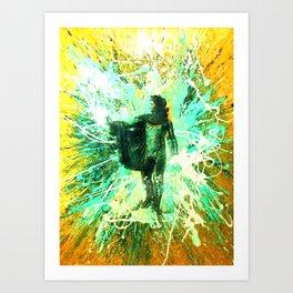 """""""Helios"""" the Sun god Apollo Art Print"""