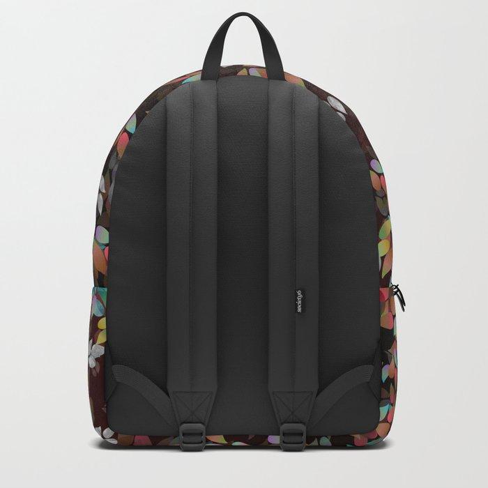 Teardrop Leaves (Abyss) Backpack