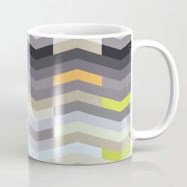 Modern Chevron - Fresh Green Coffee Mug